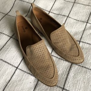 Susina tan suede loafers - 9